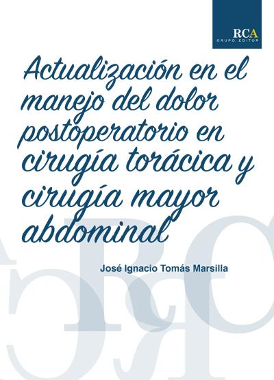 Tomas Marsilla, José Ignacio : Actualización en el manejo..